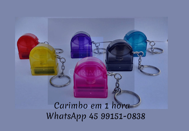 Carimbo Chaveiro