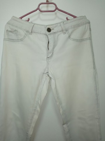 Calça Jeans Branca (42/44)