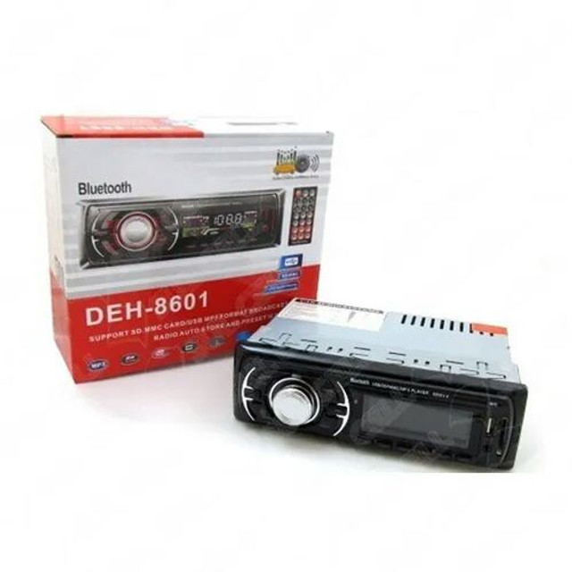 Radio Automotivo Bluetooth Usb / Cartao Sd / Fm / Mp3 (deh-8601) - Foto 2