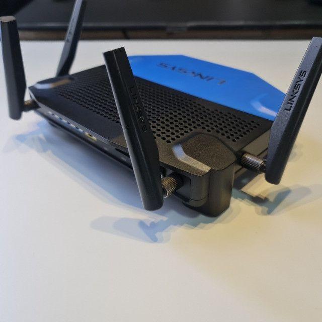 Roteador Linksys WRT 1900AC - 2.4 / 5 GHz Corporativo/Gamer exigente - Foto 3
