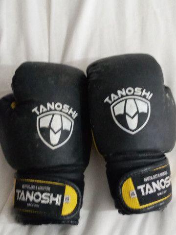 2 Luvas de box tanoshi 12oz  - Foto 4