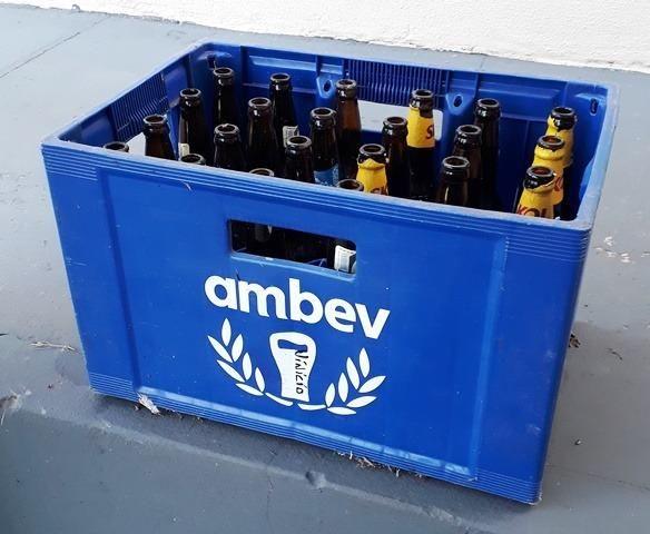Caixa de cerveja ou Engradado de cerveja