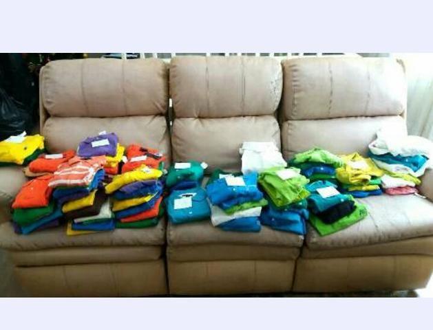bfe5302ab5 Lote de 96 Polos Femininas Marcas Famosas - Roupas e calçados ...