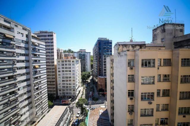 Apartamento com 1 dormitório para alugar, 60 m² por R$ 2.100/mês - Icaraí - Niterói/RJ - Foto 18