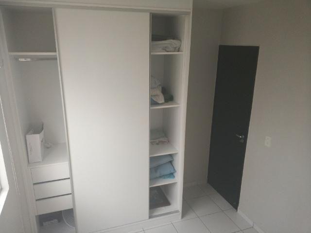 Alugo AP no Ideal BR, R$ 1000,00 com armários modulados, central de 9.000BTUs e cama box - Foto 9