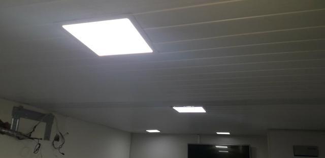Instalação de placa de led