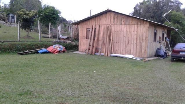 Terr.c/casa em sjp ,contenda , aceita carro - Foto 2