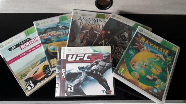 Jogos para Xbox 360 DVD
