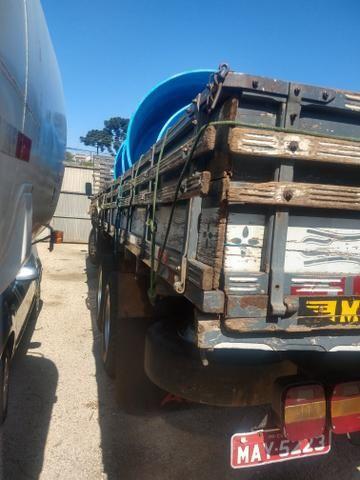 Cargo 1622 truck ano 2000 carroceria aberta - Foto 4