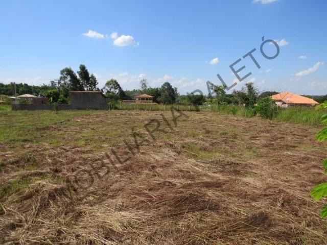 REF 909 Terreno 1000 m², escritura ok, 2 km da cidade e 300 mts do asfalto, Imob Paletó - Foto 2