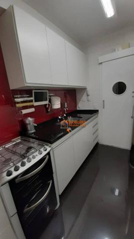 Apartamento com 3 dormitórios à venda, 93 m² por R$ 636.000,00 - Vila Augusta - Guarulhos/ - Foto 4