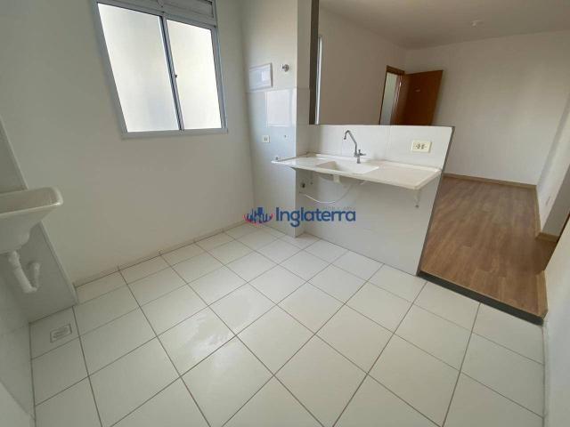 Apartamento com 2 dormitórios para alugar, 47 m² por R$ 600,00/mês - Jardim Morumbi - Lond - Foto 4