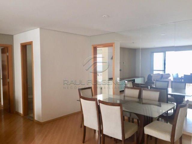 Apartamento com mobilia Área Útil 130m² 2 vagas de garagem Gleba Palhano - Foto 2