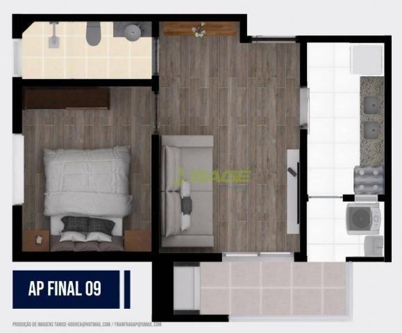 Apartamento com 1 dormitório à venda, 32 m² por R$ 199.000,00 - Centro - Pelotas/RS - Foto 9
