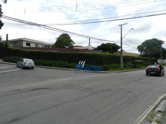 Terreno à venda, 2160 m² por R$ 2.400.000 - Uberaba - Curitiba/PR