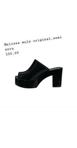 Melissas Originais semi novas. todas tamanhos 37 - Foto 2