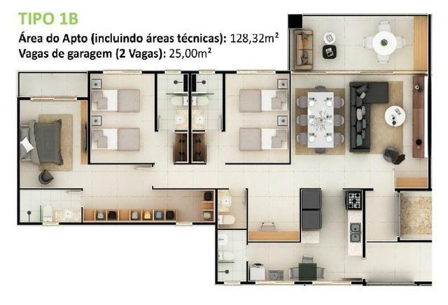 34- Cidade do Porto seu mais novo lar com 3 e 4 Suítes. Lazer completo para sua família! - Foto 14