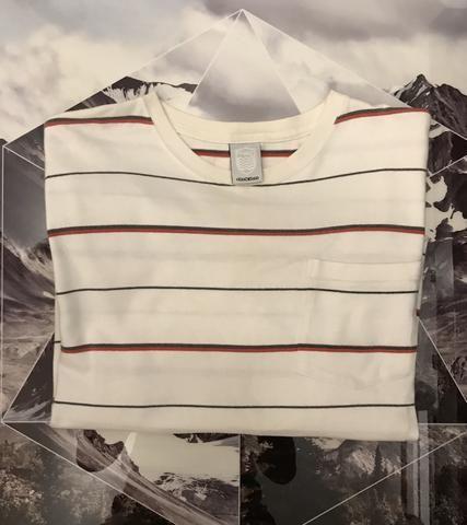 Camiseta manga longa osklen listrada - Foto 4