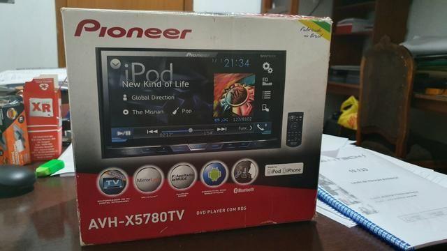 Kit multimídia dvd Pioneer AVH X5780TV