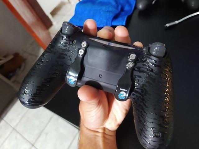 Controle Personalizado PS4 - Foto 3