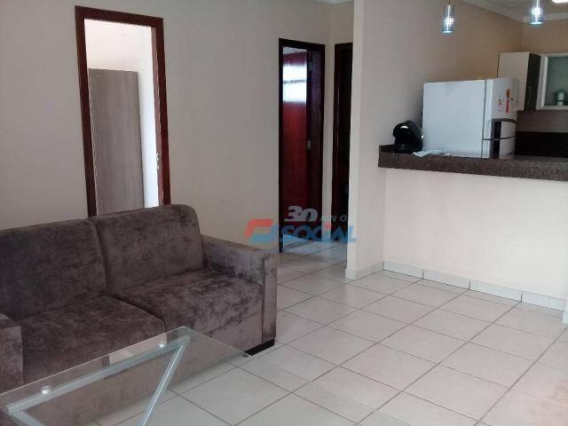 Excelente apartamento mobiliado para locação, cond. porto velho service, apt 207, porto ve - Foto 3