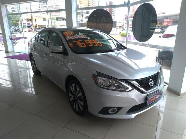 Somente hoje!!! Nissan Sentra SV 2.0 FlexStart Autom. 2019. IPVA 2020 GRÁTIS - Foto 2