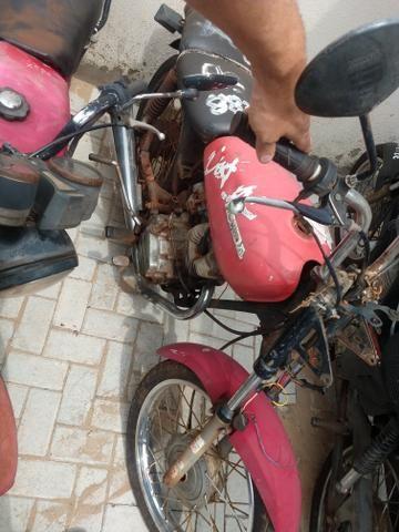 Honda Cg 125 burrao today ML S u c a t a de leilão, inteira e original - Foto 7