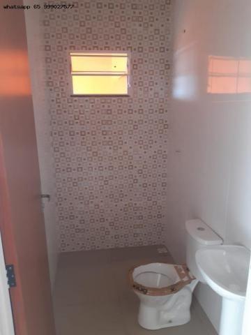 Casa para Venda em Várzea Grande, Novo Mundo, 2 dormitórios, 1 suíte, 2 banheiros, 2 vagas - Foto 6