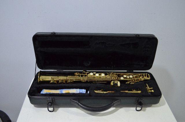 Sax Soprano Fontai Music ( Novinho ) - Foto 6