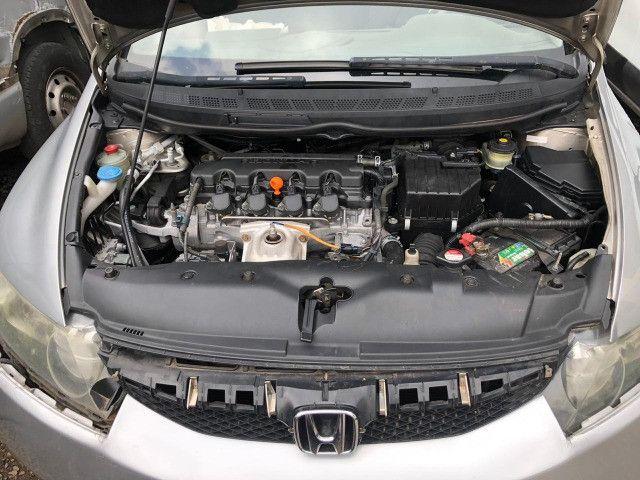 Honda Civic LXS 1.8 2009, R$22.900,00 12x no cartão - Foto 6