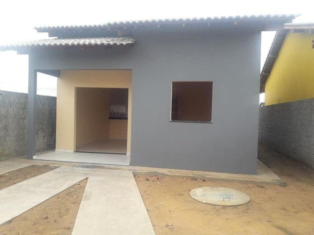 R$140.000 reais Financiamento de Casa no Novo Estrela em Castanhal 2 quartos com 1 suíte - Foto 2