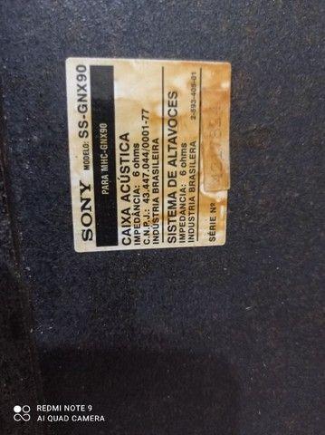 Caixas de som Sony mhc-Gnx90  - Foto 5