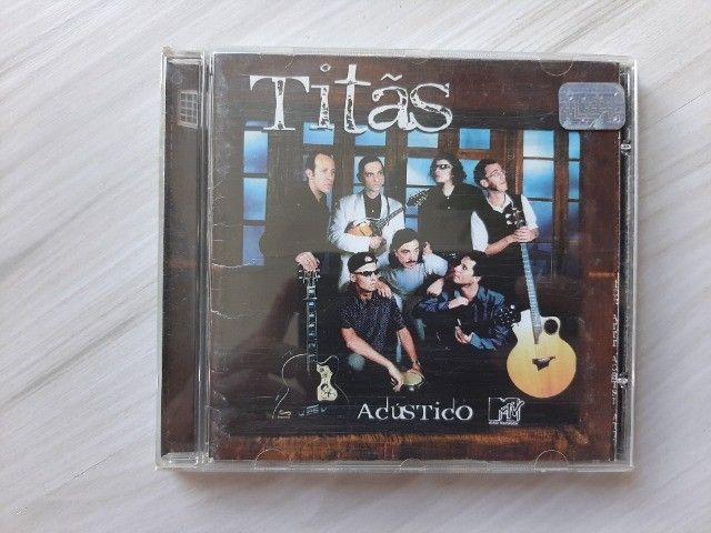 CD Titãs Acústico MTV