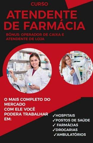 Curso atendente de farmácia  - Foto 4