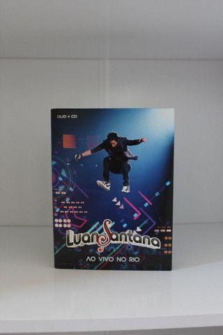 Dvd + Cd Luan Santana : Ao vivo no Rio