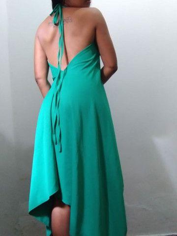 Vestido decote V despontado  - Foto 4