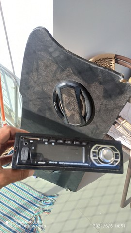 Vendo jogo Rádio mas 2 alto falante 6x9 - Foto 2