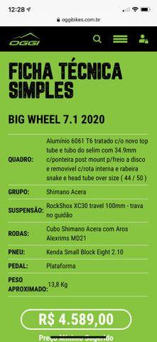 Oggi big wheel 7.1 bike aro 29 - Foto 6