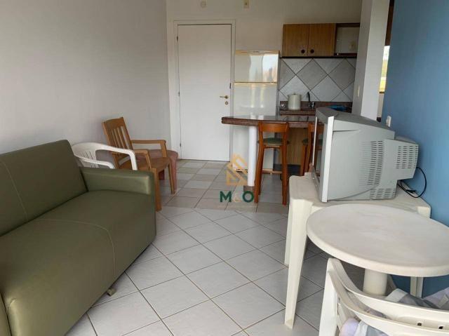 Apartamento com 1 dormitório para alugar, 52 m² por R$ 1.300/mês - Porto das Dunas - Aquir - Foto 10