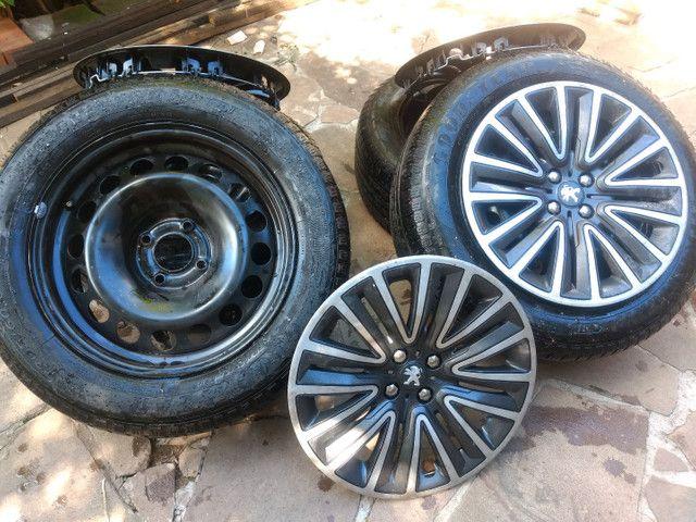Jogo de pneus e aro de ferro - Foto 5