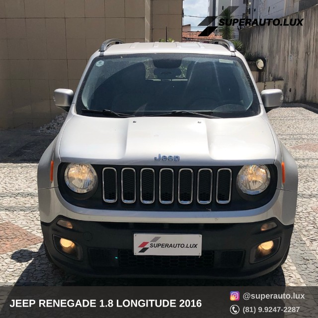 Jeep Renegade 1.8 Longitude 2016 - Foto 2