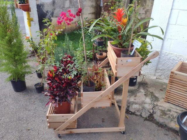Suporte pra planta com roda (Carrinho para plantas) - Foto 5