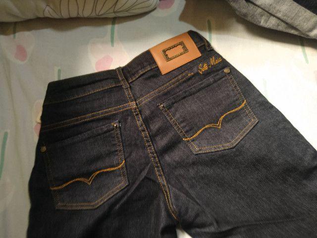 Calça jeans escura nova