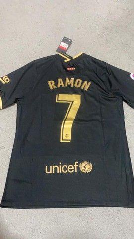 Camisas de time personalizadas 1 linha  - Foto 4