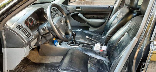 Honda Civic LX 2005/06 completo - Foto 7