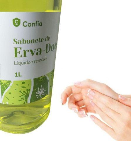 Sabonete Líquido Cremoso Erva-Doce Confia Pele Rosto - Foto 3