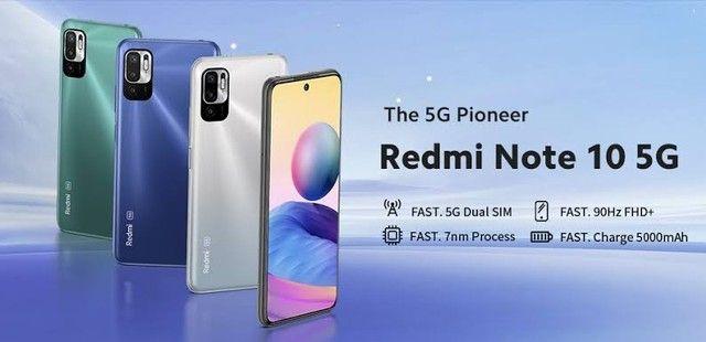 Xiaomi Redmi Note 10 - Versão 5G - 4/64gb  - Nazaré da Mata-PE - Foto 3