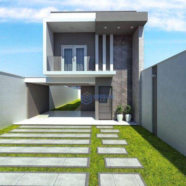 Casa com 3 dormitórios à venda, 132 m² por R$ 469.000,00 - Coité - Eusébio/CE - Foto 3