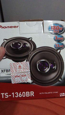 "Kit 2 Caixa de som tweeter Pioneer 50w 5"""