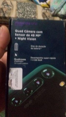 Motorola fusiona novo na caixa 128 giga de memória 5de ham - Foto 4